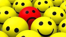 Der  rote Smiley